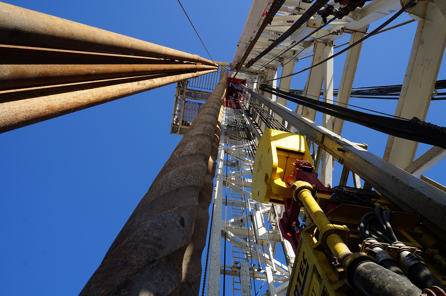 Looking Up on Rig